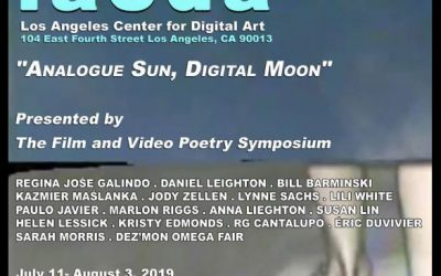 Lili White Interview – July 19th at the Film Video Poetry Society Symposium