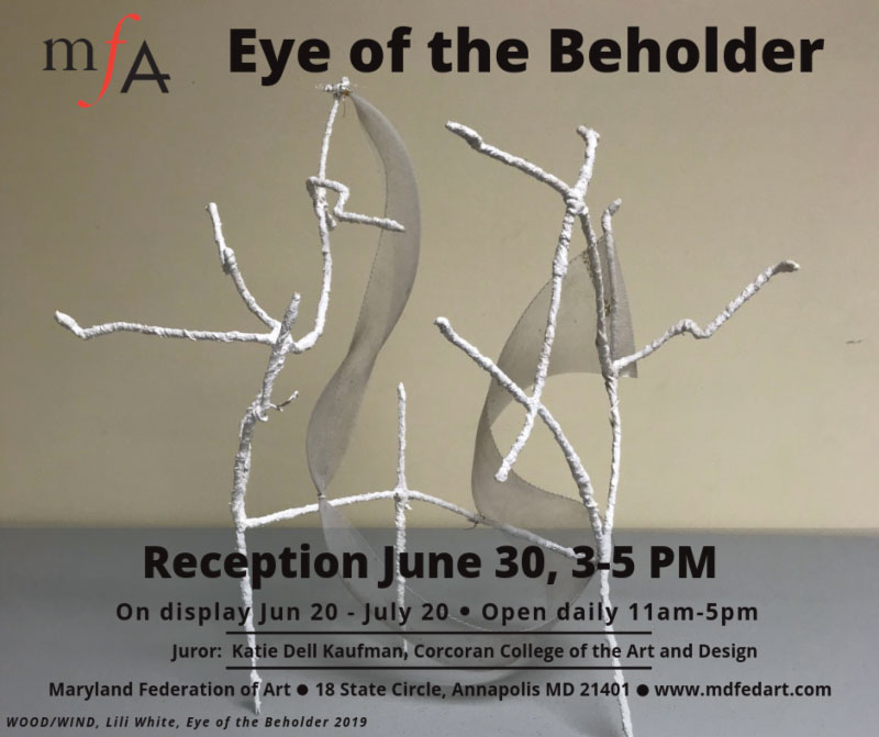 Summer 2019 – Sculpture in the Eye of the Beholder Show
